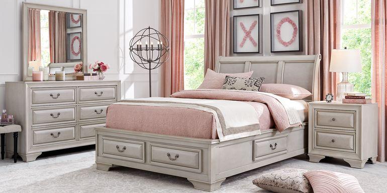 Kids Mill Valley Jr. White 5 Pc Full Storage Bedroom