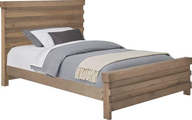 Kids Montana 2.0 Driftwood 3 Pc Full Panel Bed