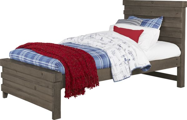 Kids Montana 2.0 Espresso 3 Pc Twin Panel Bed