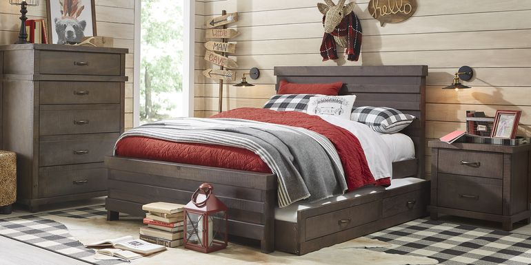 Kids Montana 2.0 Espresso 5 Pc Full Panel Bedroom
