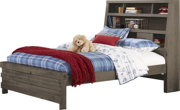 Kids Montana 2.0 Espresso 3 Pc Twin Bookcase Bed