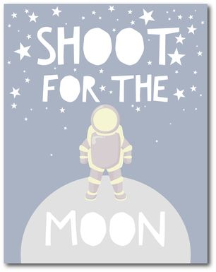 Kids Moonwalk Gray Artwork
