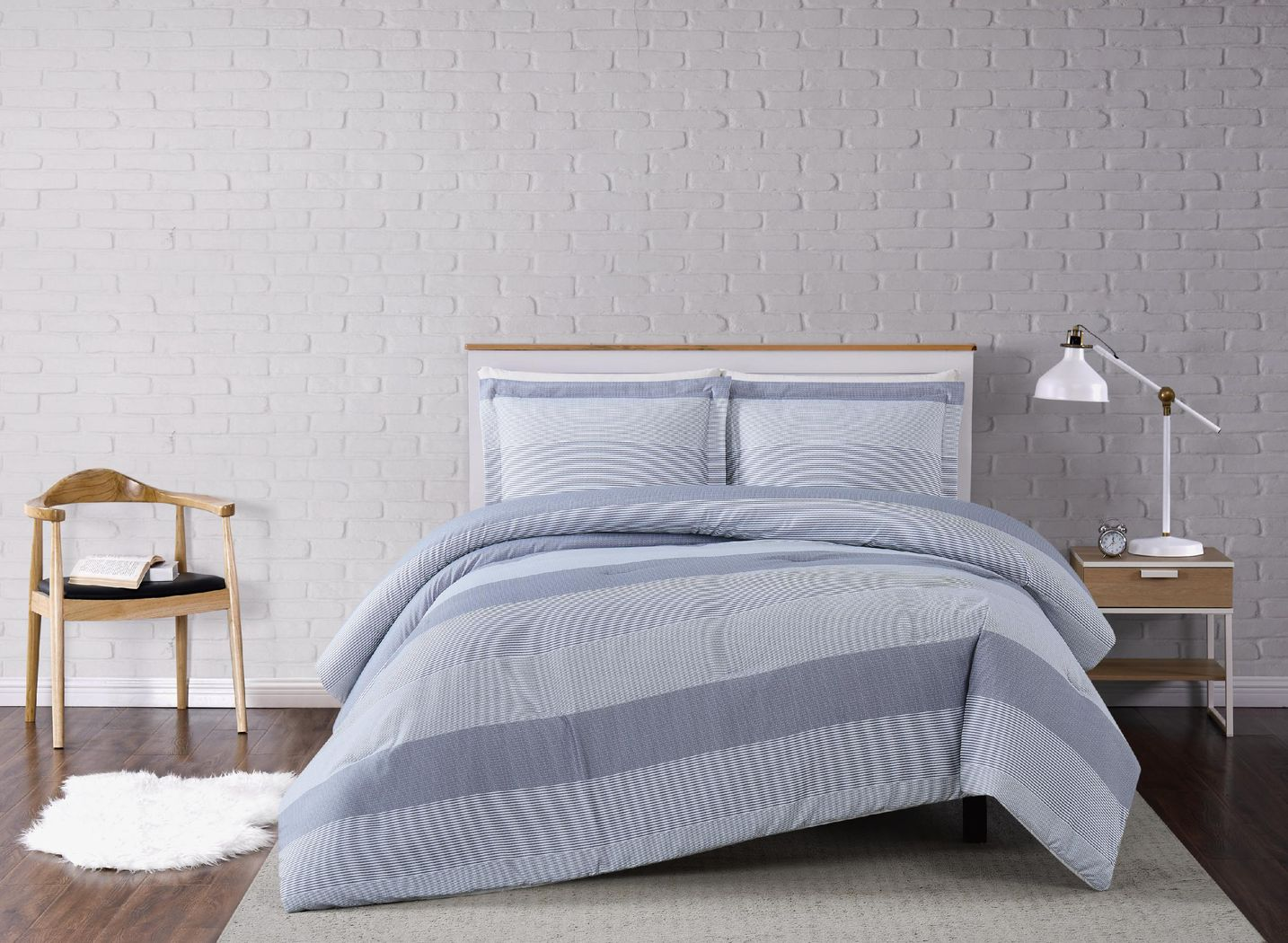 Kids Mountain Lilly Gray 2 Pc Twin Comforter Set