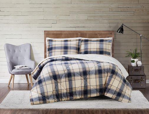 Kids New Forest Blue 3 Pc Full/Queen Comforter Set