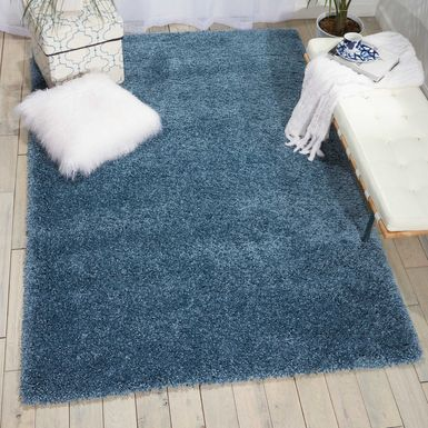 Kids Nickley Blue 8' x 11' Rug