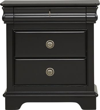 Kids Oberon Black Nightstand