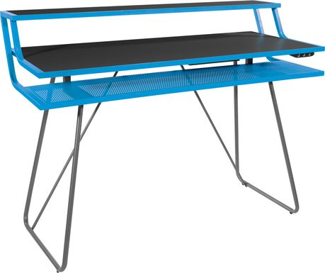 Kids Padme Blue Gaming Desk