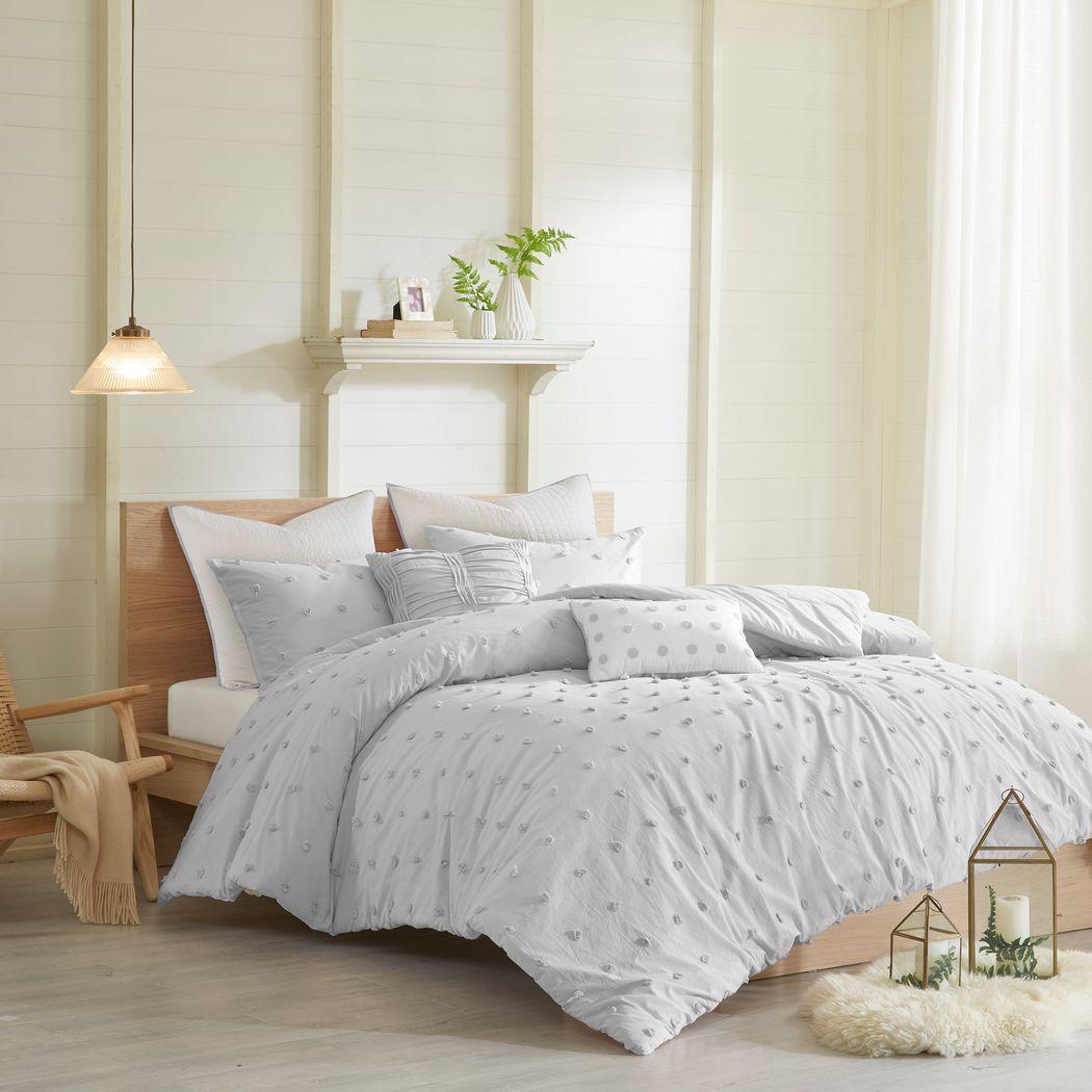 Kids Pastelle Gray 5 Pc Twin Comforter Set