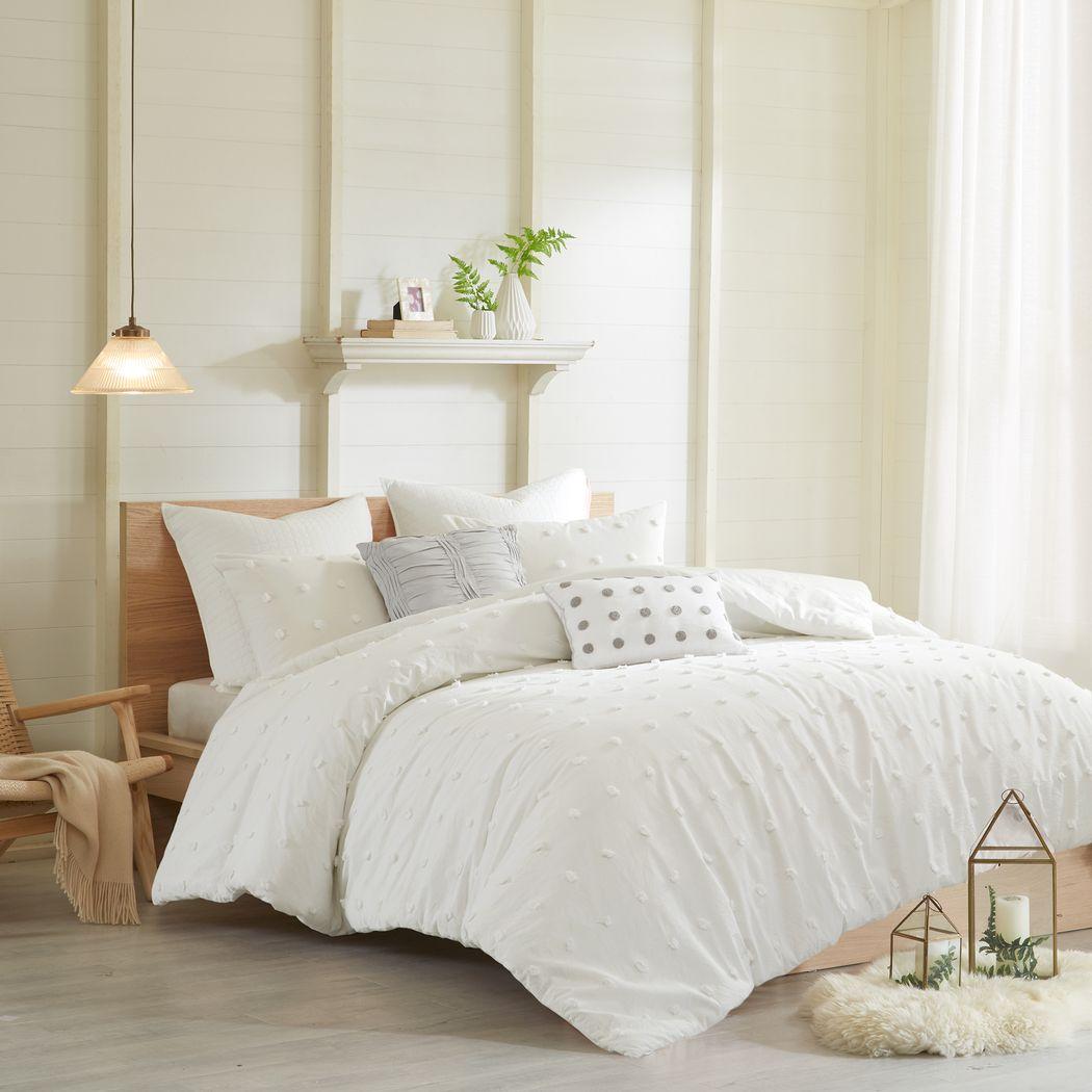 Kids Pastelle Ivory 7 Pc Full/Queen Comforter Set