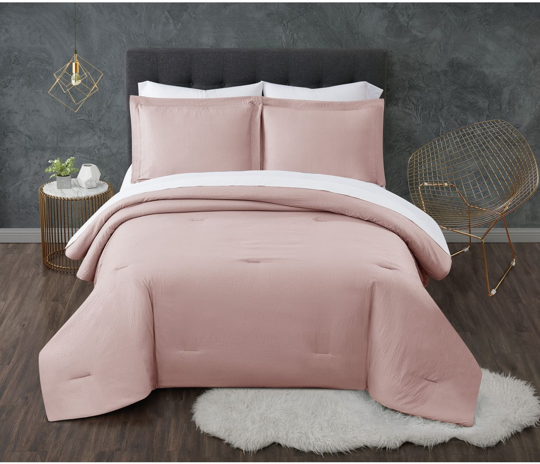 Kids Pasty Fields Blush 7 Pc Full Comforter Set