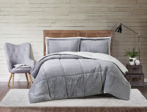 Kids Pebblecreek Gray 2 Pc Twin Comforter Set