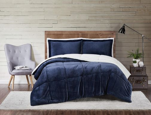 Kids Pebblecreek Indigo 3 Pc Full/Queen Comforter Set