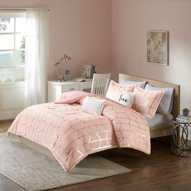 Kids Penmare Blush 4 Pc Twin Comforter Set