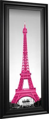 Kids Pink in Paris Fuchsia Artwork
