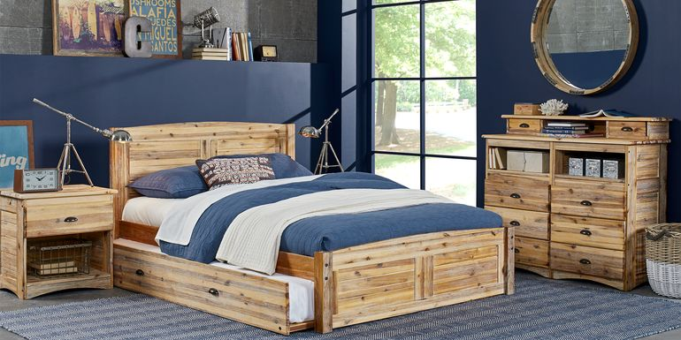 Kids Portside Sand 5 Pc Twin Bedroom