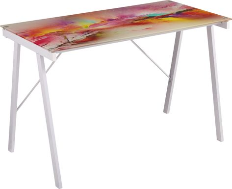 Kids Rainbow Falls Multi Desk