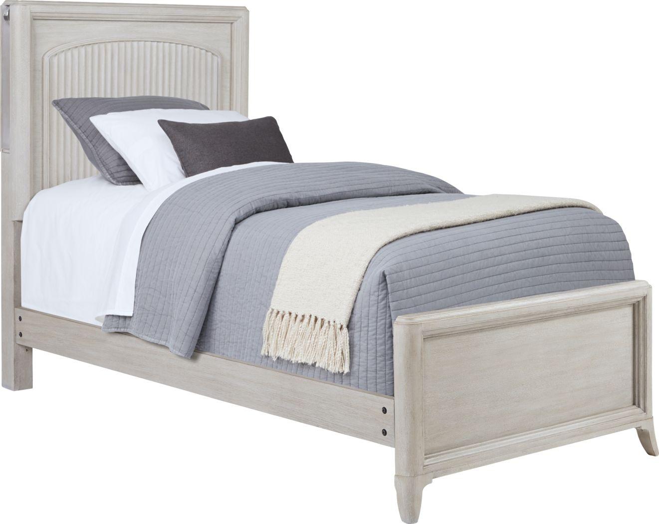 Kids reGen™ Vivien White 3 Pc Twin Panel Bed