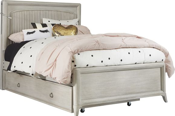 Kids reGen™ Vivien White 3 Pc Twin Panel Bed