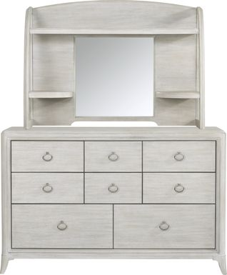 Kids reGen™ Vivien White Dresser & Hutch Set