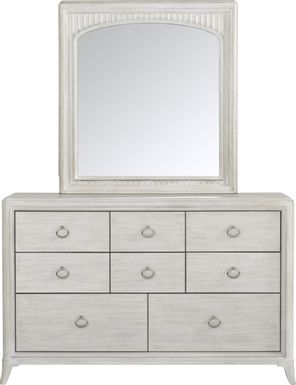 Kids reGen™ Vivien White Dresser & Mirror Set