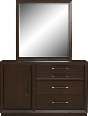 Kids reGen™ Zaine Brown Cherry Dresser & Mirror Set