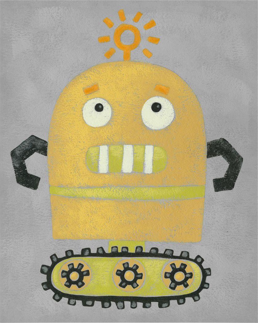 Kids Robo Leader II Orange Artwork