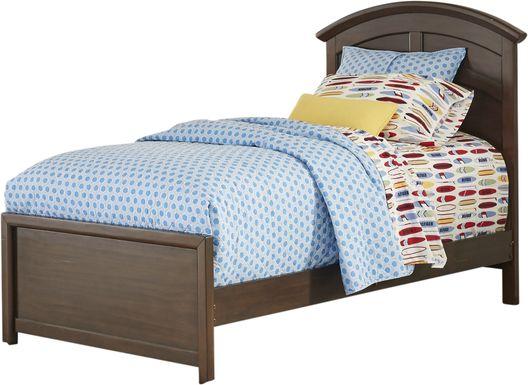 Kids Santa Cruz Brown Cherry 3 Pc Twin Panel Bed