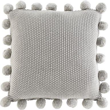 Kids Serenti Gray Accent Pillow