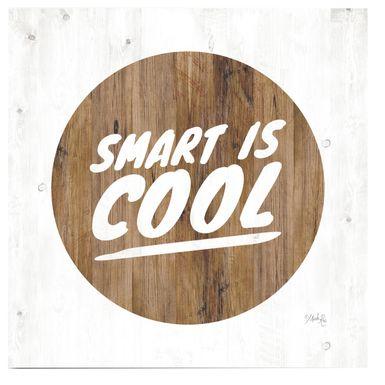 Kids Smart Hipsters Brown Artwork