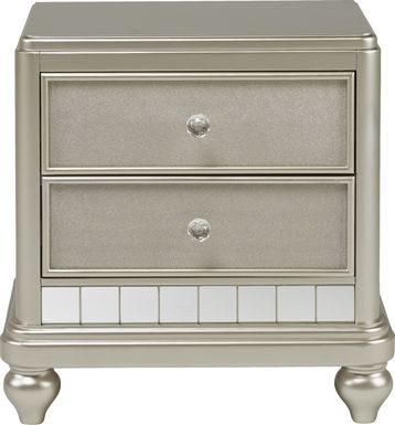 Kids Sofia Vergara Petit Paris Silver Nightstand