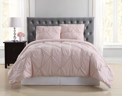 Kids Soft Waves Blush 3 Pc Full/Queen Comforter Set