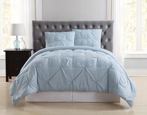 Kids Soft Waves Light Blue 3 Pc Full/Queen Comforter Set