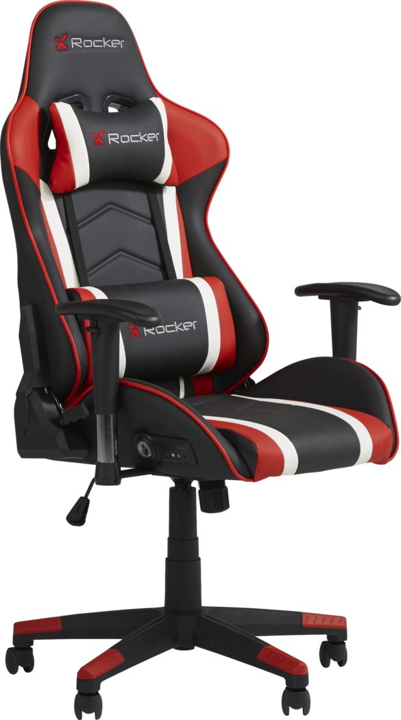 Kids Sound Trek Black/Red Gaming Desk Chair