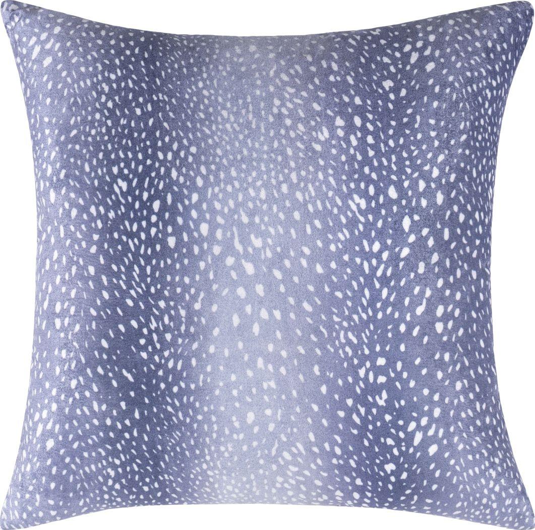 Kids Sparkly Doe Denim Accent Pillow