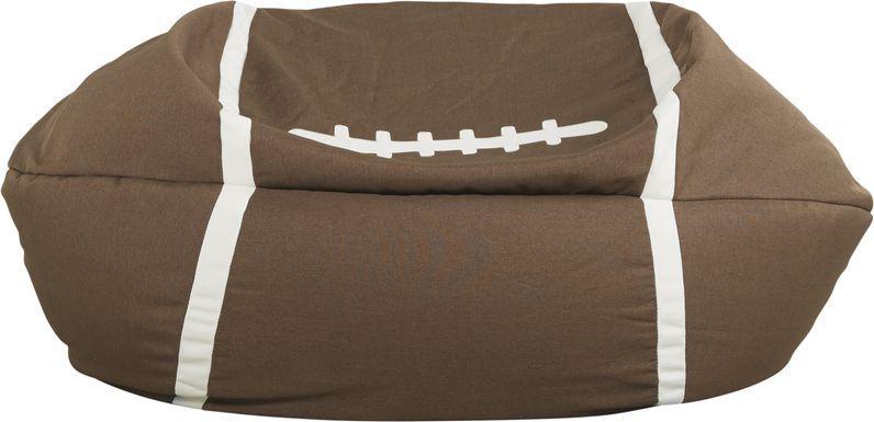 Kids Sports Zone Football Bean Bag Chair