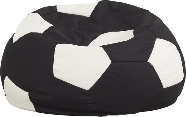 Kids Sports Zone Soccer Bean Bag Chair