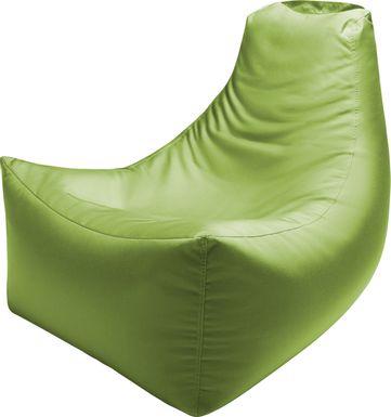 Kids Summerly Green Indoor/Outdoor Bean Bag Chair
