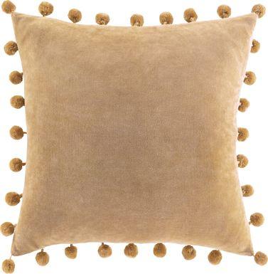 Kids Sunset Oasis Camel Accent Pillow