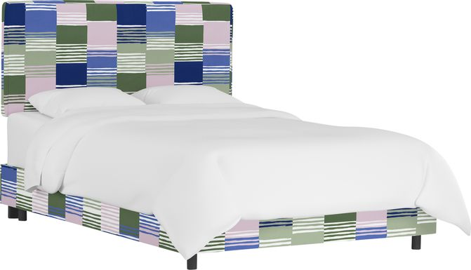 Kids Tangere Lilac Full Upholstered Bed