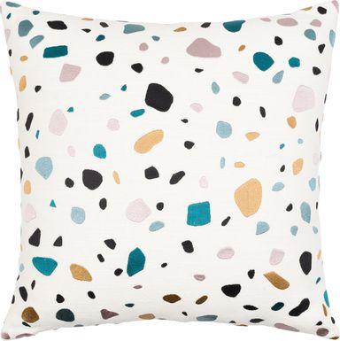 Kids Terra Pebble White Accent Pillow