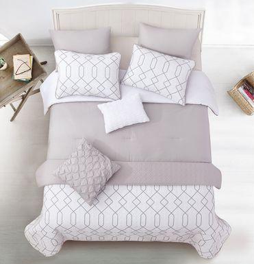 Kids Thar Gray 6 Pc Twin Comforter Set