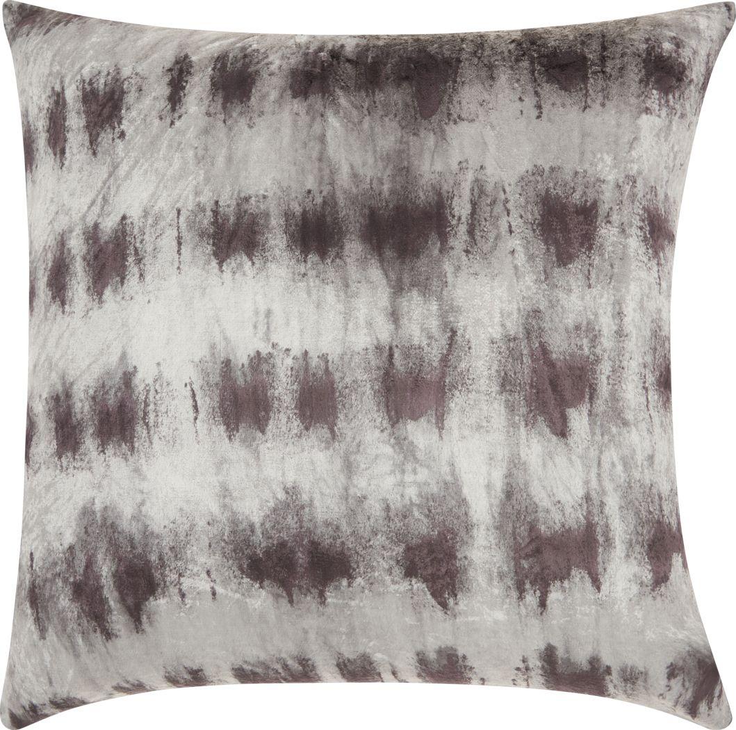 Kids Tie Dye Haze Black Accent Pillow
