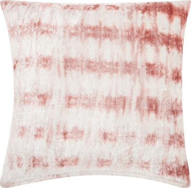 Kids Tie Dye Haze Pink Accent Pillow