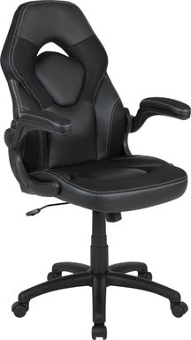 Kids Tournne Black Gaming Chair
