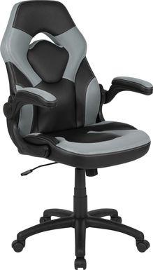Kids Tournne Gray Gaming Chair