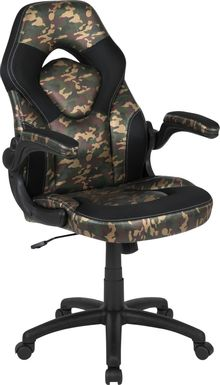 Kids Tournne Green Gaming Chair
