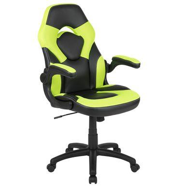 Kids Tournne Lime Gaming Chair