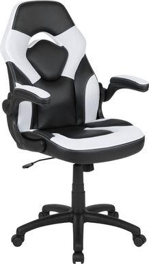 Kids Tournne White Gaming Chair
