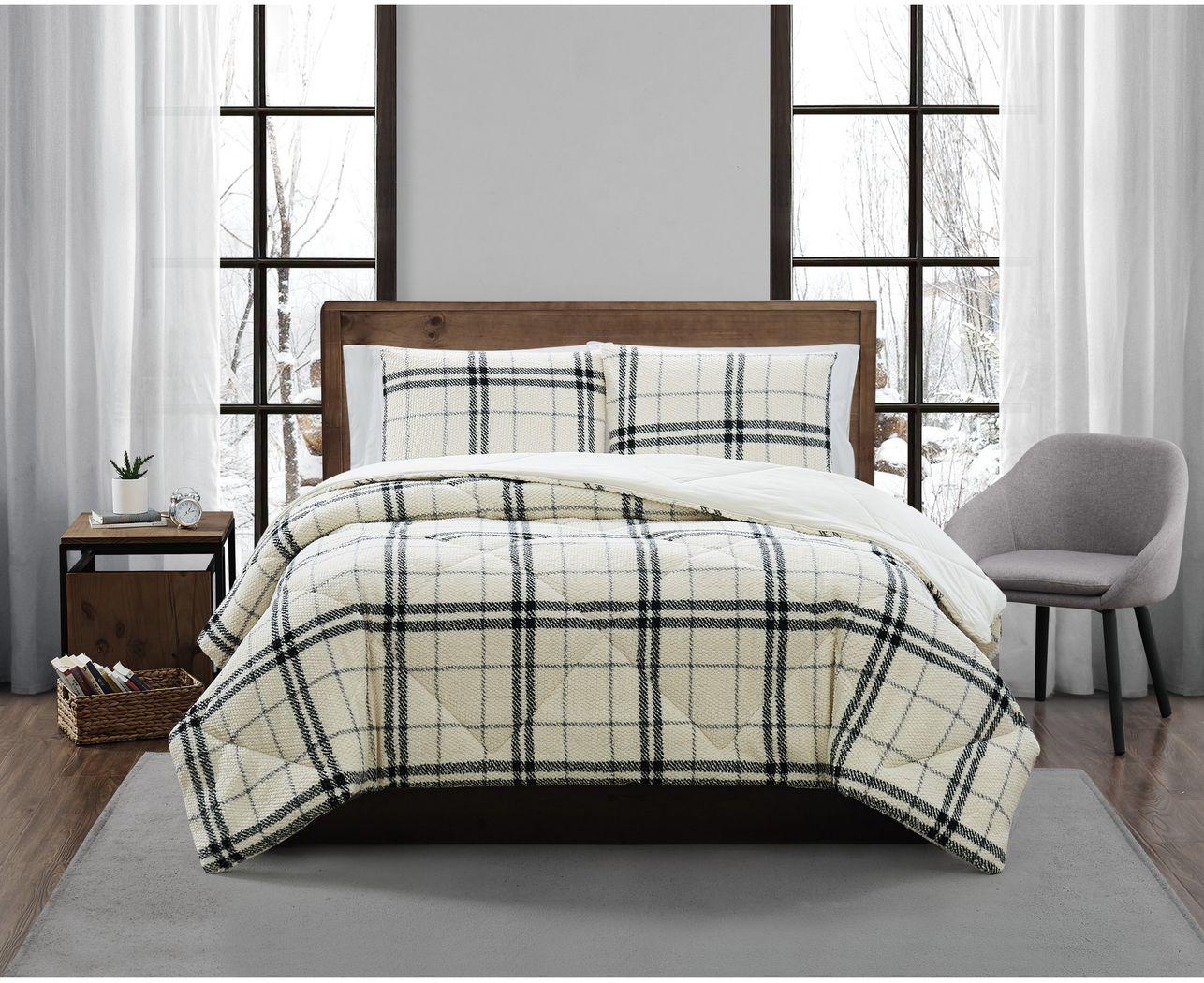 Kids Urban Cabin Charcoal 2 Pc Twin XL Comforter Set