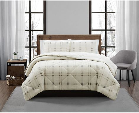 Kids Urban Cabin Gray 2 Pc Twin XL Comforter Set